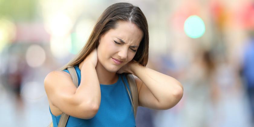 ¿Dolor de cuello?